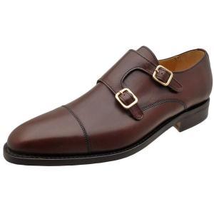 Berwick バーウィック 靴 メンズ ビジネスシューズ ダイナイトソール ダブルモンクストラップ 3268 ダークブラウン 本革|kanda-mimatsu