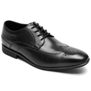 (セール)ROCKPORT ロックポート メンズ ウォーキングシューズ H80221 スタイルコネクテッド ウィングチップ ブラック 革靴 ビジネスシューズ