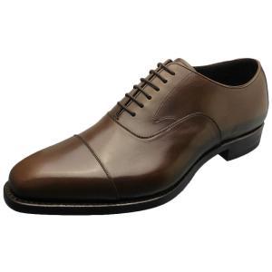 SHETLAND FOX シェットランド フォックス カーディフ ストレートチップ 061FSF ダークブラウン 本革 靴 メンズ ビジネスシューズ|kanda-mimatsu