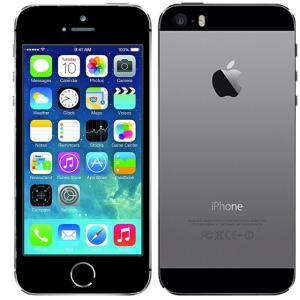iPhone5S 16GB SIMフリー A1533 格安SIM利用可 スペースグレイ Apple★