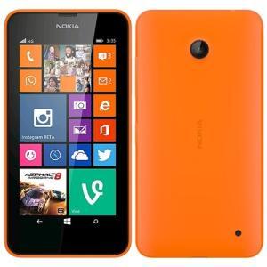 Nokia Lumia 635 SIMフリー SIMフリーオレンジ 4GLTE対応 超美品 RM975★