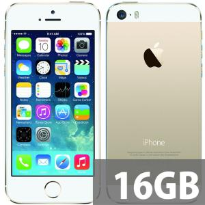 Apple iPhone5S SIMフリー16GB A1533 ゴールド 海外版★