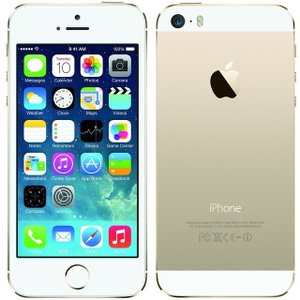 iPhone5S 32GB SIMフリー A1453 ゴール...
