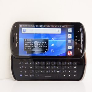 Sony Ericsson Xperia pro ブラック SIMフリースマホ★