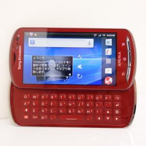 Sony Ericsson Xperia pro レッド SIMフリースマホ★