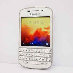 【SIMフリー】BlackBerry Q10★SQN100-1★whiteホワイト★