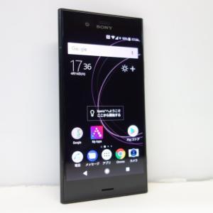 4a74f8db53 Sony Xperia XZ1 64GB SIMフリー ブラック G8341【SIMフリー】☆