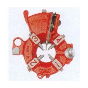 REX レッキス N20・NS25AIII用自動切上ダイヘッド NS25AD 1/2-1 (鋼管用チェーザ付) 290125|kandakiko