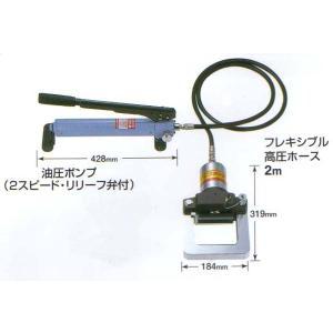 亀倉 手動油圧式 パイプ断水機 SS-50S|kandakiko