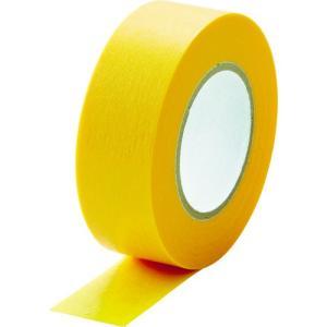 TRUSCO 建築塗装用マスキングテープ 幅18mm長さ18m 7巻入 イエロー kandakiko