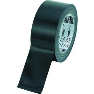 TRUSCO カラー布粘着テープ 幅50mm長さ25m ブラック kandakiko