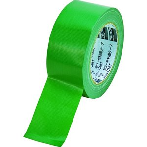 TRUSCO カラー布粘着テープ 幅50mm長さ25m グリーン kandakiko