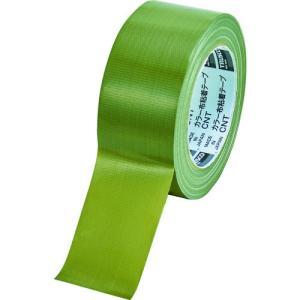 TRUSCO カラー布粘着テープ 幅50mm長さ25m オリーブドラブ kandakiko
