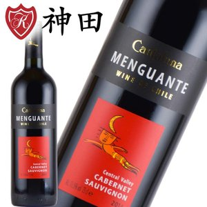 赤ワイン メングアンテ カベルネ・ソーヴィニヨン チリワイン 赤ワイン|kandasyouten