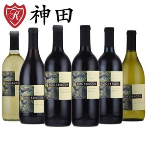 カリフォルニア ワイン 6本 セット 赤 白 飲み比べ アメリカ wine set|kandasyouten
