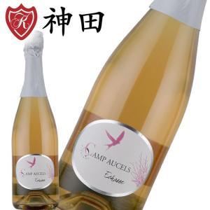 カンポセル エシャス 酸化防止剤 無添加 オーガニック ワイン スパークリング ロゼ フランス|kandasyouten