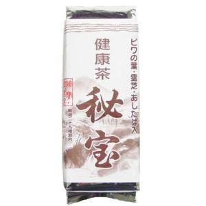 健康茶 秘宝 400g入 ビワの葉・霊芝・あしたば入|kandk-healthcare