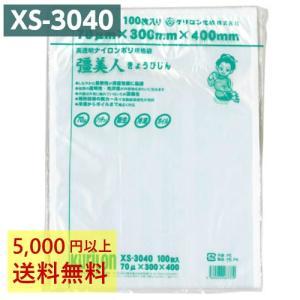 真空袋 ナイロンポリ 彊美人 XS-3040 (100枚入) 70μ×300×400mm クリロン化成 条件付送料無料|kane8ya