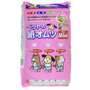 紙オムツ 犬 猫 ドギーマン ペット 紙オムツ ミニ サイズ 18枚入|kanedasyoten