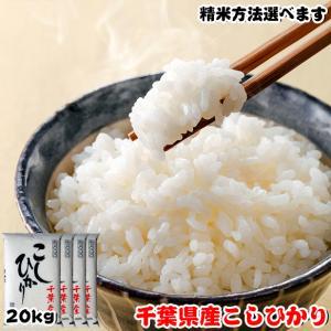 米 お米 20kg (5kgx4袋) 千葉県産 コシヒカリ ※五分搗き 七分搗き 白米 選択可 熨斗紙 名入れ ギフト対応|kanekokome