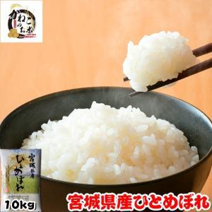 米 お米 10kg (5kgx2袋) 宮城県産 ひとめぼれ 熨斗紙 名入れ ギフト対応|kanekokome