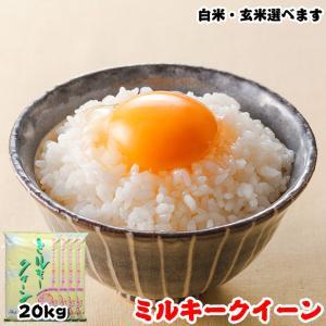 米 お米 20kg (5kgx4袋) 千葉県産 ミルキークイーン 白米or玄米選択可 熨斗紙 名入れ ギフト対応|kanekokome