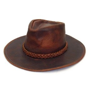 HENSCHEL ヘンシェル 編込みベルト レザーウエスタン 本革 USA インポート 帽子 テンガロン メンズギフト カウボーイ ブラウン|kanekoya1958