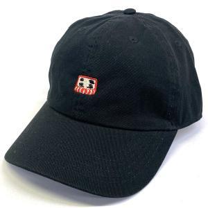 達磨 だるま ダルマツイルキャップ CAP 帽子 メンズギフト カジュアル スポーツ アウトドア 丸洗い 普段使い ギフト プレゼント ブラック|kanekoya1958