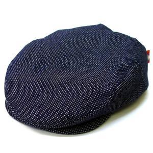 達磨 だるま 刺子斑藍染 日本製 職人の極み ハンチング 帽子 メンズギフト 父の日 誕生日 感謝の気持ち|kanekoya1958