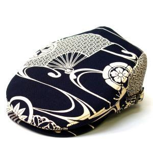 達磨 だるま 帆布紋章 日本製 職人の極み ハンチング 帽子 メンズギフト 父の日 誕生日 感謝の気持ち|kanekoya1958