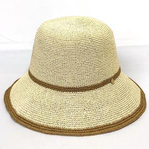 Pテアミセーラー 手編み 洗える ペーパー 天然素材 リゾート 洗濯機対応 涼しい 通気性 サイズ調整機能付き 母の日 プレゼント ギフト 婦人 帽子 ベージュ系 kanekoya1958