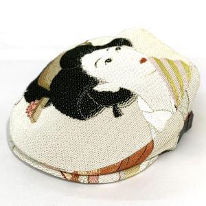達磨 だるま 京娘 扇 ゴブランハンチング 日本製 鳥打ち帽 紳士 職人の極み 帽子 メンズギフト 父の日 誕生日 感謝の気持ち|kanekoya1958