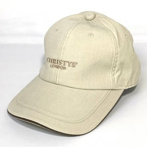 Christys'London クリスティーズロンドン リップストップキャップ 紳士 帽子 CAP 父の日ギフト ゴルフ スポーツ  シルバー系|kanekoya1958