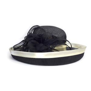 Complit By Marisa イタリーシナマイエッジup インポート イタリア製 高級 婦人 天然素材 母の日 日除け ブラック系 kanekoya1958