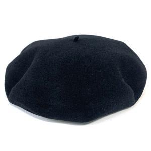 フランス製 インポート バスクベレー 高級 帽子 680002-47 ブラック系|kanekoya1958