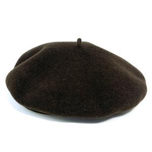 フランス製 インポート バスクベレー 高級 帽子 680002-47 ブラウン系|kanekoya1958