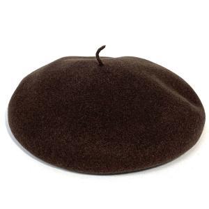 フランス製 インポート バスクベレー 高級 帽子 680004-47 ブラウン系|kanekoya1958
