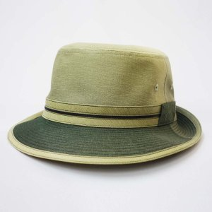 Borsalino グラデーションアルペン 日本製 紳士 帽子 有り グリーン系 父の日ギフト|kanekoya1958
