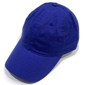 【CAP】 ソリッドCAP シンプル帽子 メンズ レディース ユニセックス コットン アウトドア スポーツ おでかけ 無地 サイズ 調整ベルト付 ブルー|kanekoya1958