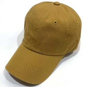 【CAP】 ソリッドCAP シンプル帽子 メンズ レディース ユニセックス コットン アウトドア スポーツ おでかけ 無地 サイズ 調整ベルト付 イエロー|kanekoya1958