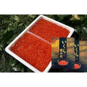 ギフト 新物 いくら 醤油漬け 500gが2個で1kg 北海道産 マタツ水産 秋鮭の卵 訳あり 送料無料|kanekyu-store