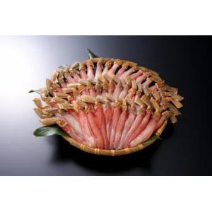 お歳暮 ズワイカニ500g×2 しゃぶしゃぶ用 むき身 冷凍 |kanekyu-store