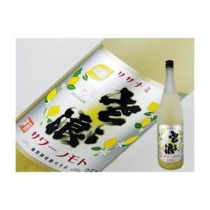 ササナミサワーノモト レモン 720ml|kaneni-shouji