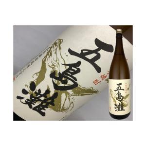 芋焼酎 長崎県 五島灘 白麹 720ml|kaneni-shouji