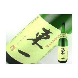 日本酒 佐賀県 東一 純米吟醸 山田錦 1.8L|kaneni-shouji