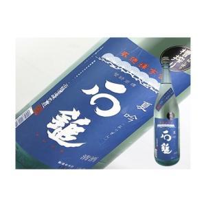 日本酒 愛媛県 石鎚 吟醸酒 夏吟 1.8L|kaneni-shouji