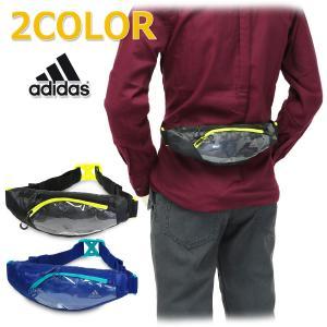 ウエスト バッグ ランナー ポーチ ランニング 軽量 ジョギング ウォーキング メンズ レディース 男女兼用 アディダス/ランニング ウエストポーチ ECX54|kanerin