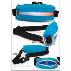 ウエストバッグ ルコック ウエストポーチ lecoq sportif ランニング ジョギング/QA-720115 kanerin 02