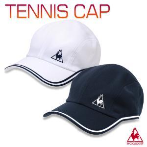 ルコック キャップ 帽子 テニス スポーツ 涼しい メンズ レディース 男女兼用/テニス キャップ QTBPJC00|kanerin