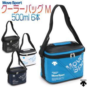 デサント ムーブスポーツ クーラーバッグ 保冷バッグ レジャーバッグ スポーツ 部活 ランチバッグ ペットボトル 6本/クーラーバッグ M DMANJA44|kanerin